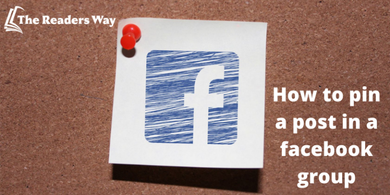 How to pin a post in a facebook group